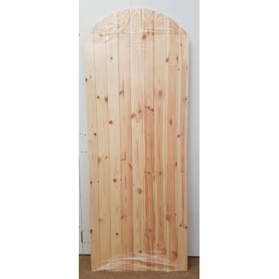 Arched LB 78x36 Ledged and Braced Softwood Gate Timber Woode...