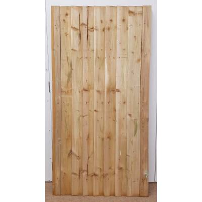 Timber Wooden Gate Featheredge Pressure Treated Sawn 1800x90...
