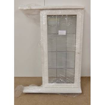 Wooden Timber Window Georgian  White Double Glazed 625x1270mm HW225 (625x1345)