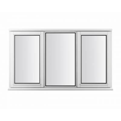 Timber Wooden Window Plain Casement Jeld-Wen Double Glazed ...