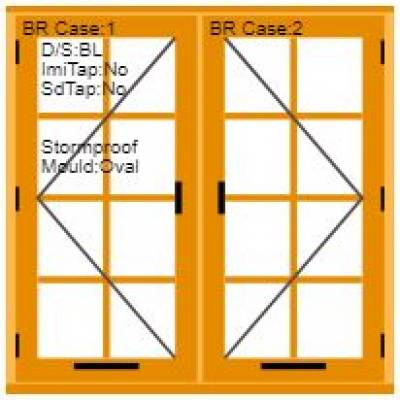 Georgian Traditional Wooden Window Price Calculator...
