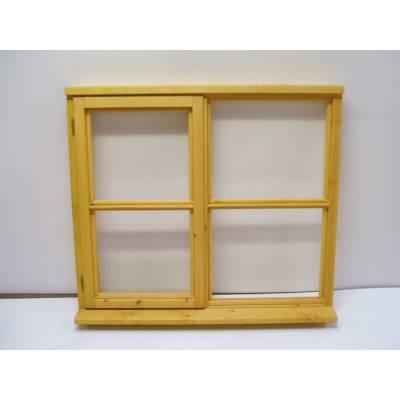 1195x895mm Horizontal Bar Timber Window -WH209C - Handing (e...