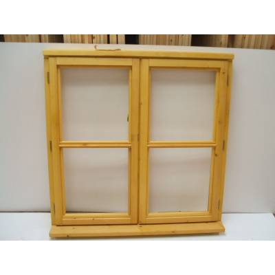 Wooden Timber Window Horizontal Centre Bar Casement Unglazed Jeldwen 1195x1045mm