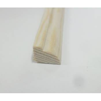 Glass Bead pine decorative trim moulding 11x8mm 2.4m wooden timber edging