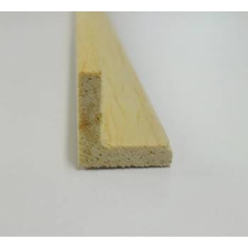 Angle hardwood decorative trim moulding 12x12mm 2.4m beading wooden timber