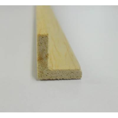 Angle hardwood decorative trim moulding 12x12mm 2.4m beading...