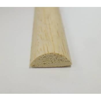Half round decorative trim moulding 12x6mm 2.4m beading wooden timber edging