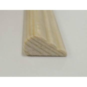 Broken Ogee Pine decorative trim moulding 15x8mm 2.4m beading wooden timber