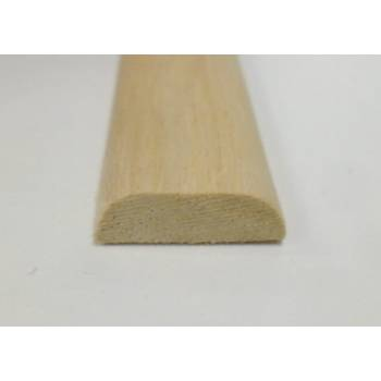 D Shape decorative trim moulding 18x6mm 2.4m beading wooden timber edging