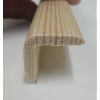 Angle pine cushion corner trim moulding 20x20mm 2.4m bead wooden timber edging
