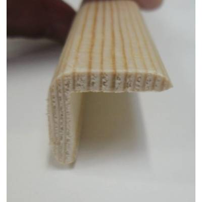 Angle pine cushion corner trim moulding 20x20mm 2.4m bead wo...