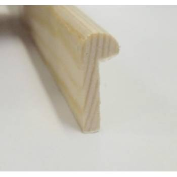 Hockey stick pine decorative trim moulding 20x8mm 2.4m beading wooden timber