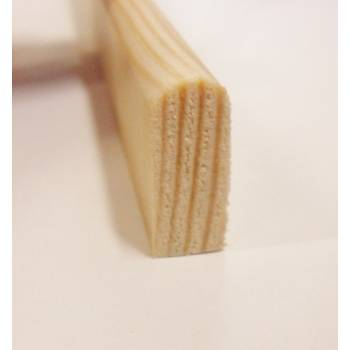 Parting bead pine decorative trim moulding 20x8mm 2.4m beading wooden timber