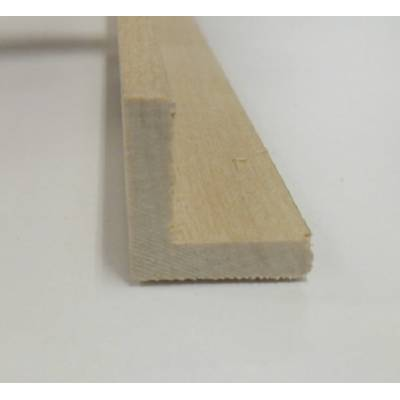Angle hardwood decorative trim moulding 21x21mm 2.4m beading...