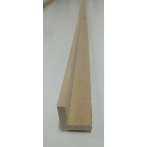 angle hardwood decorative trim moulding 21x21mm 2 4m
