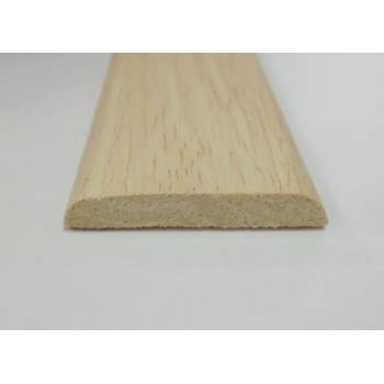 D Shape decorative trim moulding 31x6mm 2.4m beading wooden timber edging