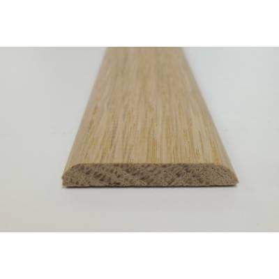 Oak D Mould trim shape decorative moulding 34x6mm 2.4m bead ...