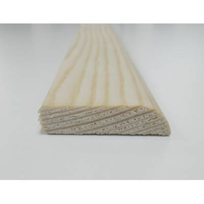 Pencil round Pine decorative trim moulding 34x8mm 2.4m beadi...