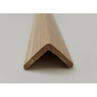 Angle Oak cushion corner trim moulding 33x33mm 2.4m beading ...