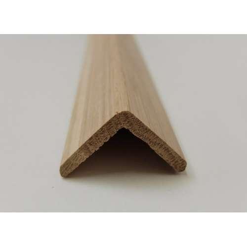 angle oak cushion corner trim moulding 34x34mm 2 4m