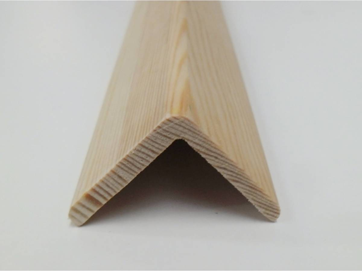 Angle Pine Cushion Corner Trim Moulding 40x40mm 2 4m Bead