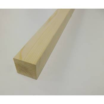 Plain Blank Pine 41mm Stair Spindle 895mm Square Wooden Softwood Timber Baluster