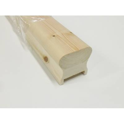 Pine Stair Handrail HDR High Profile Richard Burbidge 41mm G...