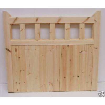 Gate 600 Wooden timber softwood garden driveway gate - Size ...
