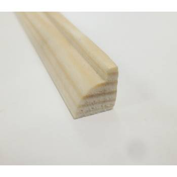 Glass Bead pine decorative trim moulding 9x9mm 2.4m beading wooden timber edging