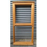 Wooden Timber Mock Sash Regency Casement Window 800x1635mm AUC1057 (910x1645)