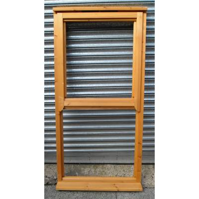 Wooden Timber Mock Sash Regency Casement Window 800x1635mm A...