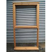 Wooden Timber Mock Sash Regency Casement Window 1050x1935mm AUC1126