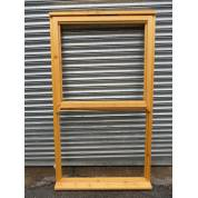 Wooden Timber Softwood Stormproof Window Mock Sash Regency 1090x2000mm AUC499