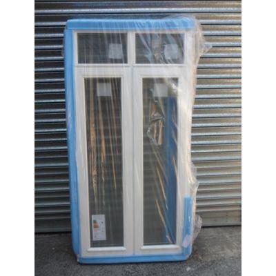 Wooden Timber Window Stormproof Casement Glazed 850x1720mm A...