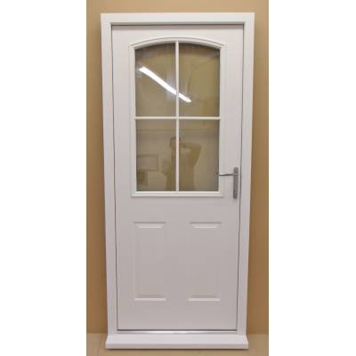 Aluminium Metal Faced Composite Door Wooden Timber Hardwood ...