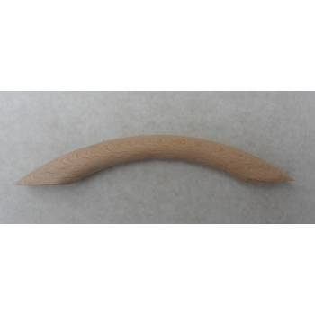 Beech Bow Pull 165mm Cupboard Cabinet Knob Handle Door Drawer Wooden Timber