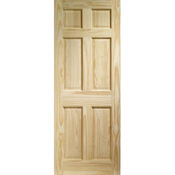 Pine Colonial 6 Panel Internal Door