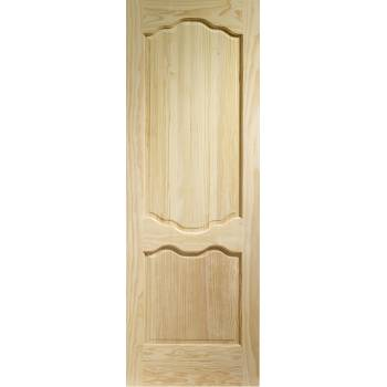 Pine Louis Internal Door Wooden Timber Interior