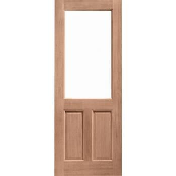 Hardwood 2XG External Door Wooden Timber Unglazed 78x30 80x32 78x33