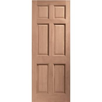 Hardwood Colonial 6 Panel External Door Wooden 6P 78x30 80x32 78x33 82x34 84x36