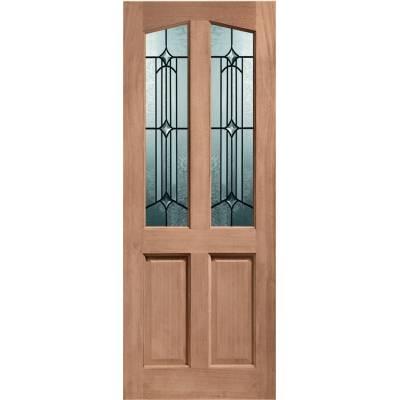 Hardwood Richmond External Door Timber Donne Double Glazed 7...