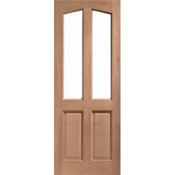 Hardwood Richmond External Door Wooden Timber Unglazed 78x30 80x32 78x33