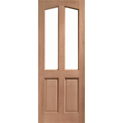Hardwood Richmond External Door Wooden Timber Unglazed  - Door Size, HxW: