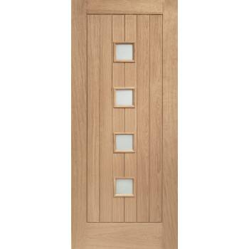 Oak Siena Glazed External Door