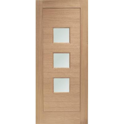 Oak Turin External Door Wooden Double Glazed 78x30 80x32 78x...