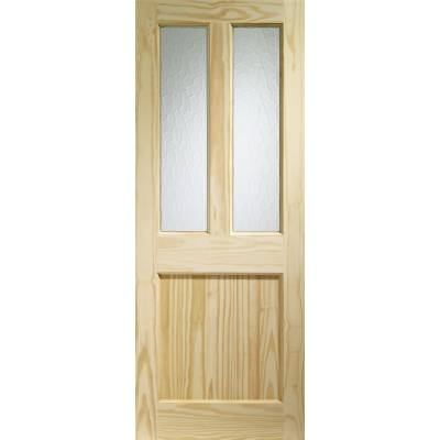 Softwood Malton External Door Wooden Timber Single Glazed Fl...