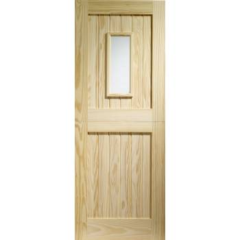 1 Light Stable Glazed External Door