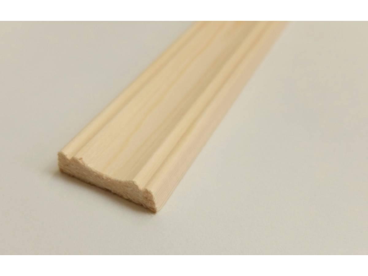 Cover Mould Pine decorative trim moulding 29x8mm 2.4m beading wooden ...