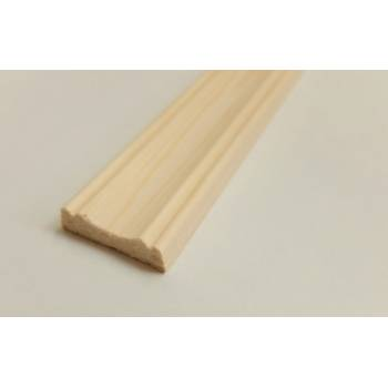 Cover Mould Pine decorative trim moulding 29x8mm 2.4m beading wooden timber