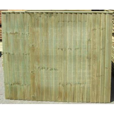 Vertilap Fence Panels Pressure Treated - Size HxW: ...